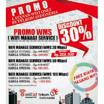 Jual Wifi Id Wms Wifi Manage Service Jakarta Selatan Witel Jaksel Tokopedia