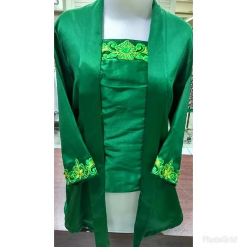 Foto Produk Kebaya kutubaru hijau botol Ananta dari Ananta