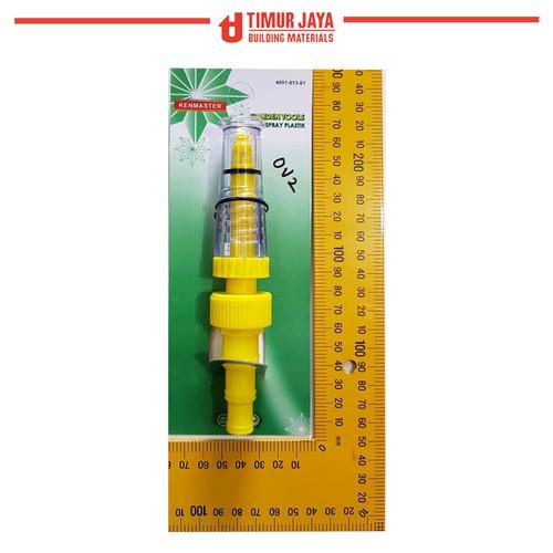Foto Produk KENMASTER Semprotan air lurus PVC taman cuci motor hose nozzle dari TOKO BESI TIMUR JAYA