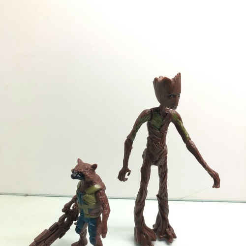Foto Produk Mainan Action Figure Avengers Groot and Rockets Endgame dari toysmaniac