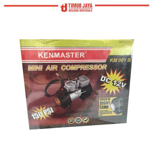 Foto Produk Mini Air Compressor PISTON KM 001 B + Lampu KENMASTER / KOMPRESOR MINI dari TOKO BESI TIMUR JAYA