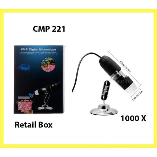 Foto Produk Mikroskop USB Microscope Digital 1000X Magnifier Camera Endoscope Zoom dari Santa86