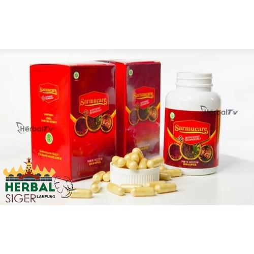 Foto Produk Sarmucare Sarang Semut With Nano Tecnologi dari herbal siger