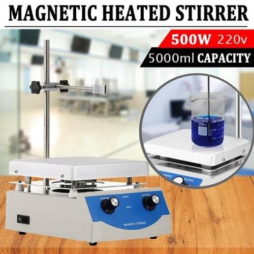 Foto Produk Hot Plate Magnetic Stirrer SH-3 Magnet Stirer Pemutar Lab Hotplate SH3 dari HRDIK