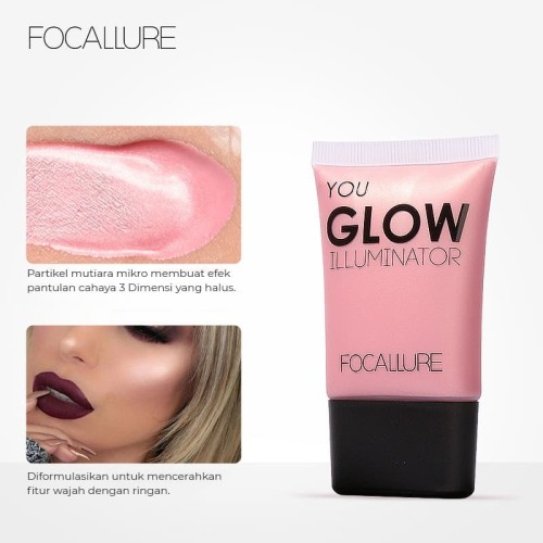 FOCALLURE Skin Glow Highlight Liquid Brighten Cream FA33 - FA33-04 2