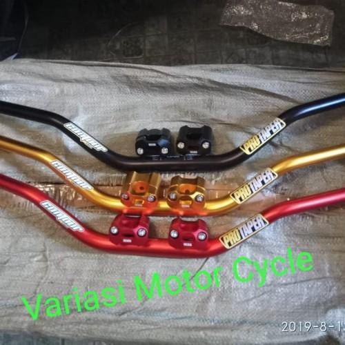 Foto Produk Stang Fatbar Raiser Protaper Original / Klx150 Trail Cross - Hitam dari VaRiAsY MoTor CyCle