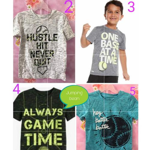 Foto Produk Atasan anak laki-laki merk jumping beans sisa ekspor (2,3,4,5) dari Pangkalan Baju