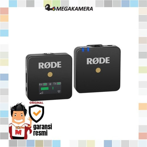 Foto Produk Rode Wireless GO Compact Wireless Audio Microphone System - 2.4 GHz dari Megakamera