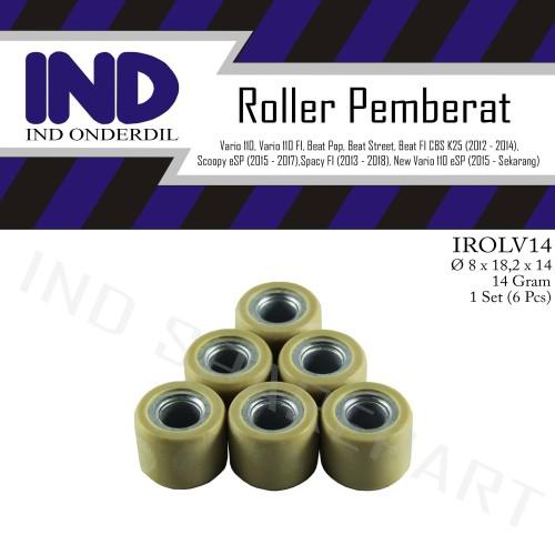 Foto Produk Roller-Roler-Loler-Loller 14 Gram-gr Vario 110 FI-F1-eSP/Beat Street dari IND Onderdil