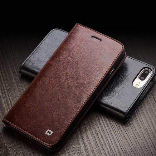 Foto Produk Iphone 7Plus 8plus 7 8 Plus Flip Wallet Kulit Leather Cover Slot Kartu dari 17 Agustus