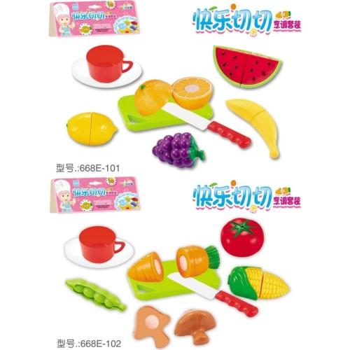 Foto Produk MMTOYS Mainan Potong Buah 8pcs Plastik Mainan Masak - BUAH dari Mmtoys Indonesia