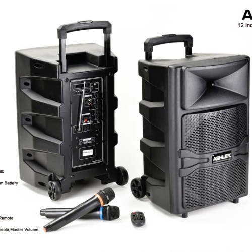 Foto Produk SPEAKER PORTABLE WIRELESS MEETING ASHLEY RQ12 ada cashback langsung dari MURAH88 OLSHOP