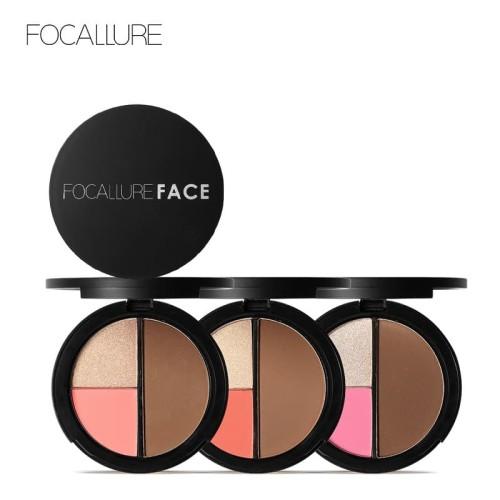 Focallure Face 3 In 1 Palette FA20 - FA20-02 1
