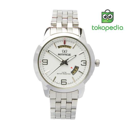 Foto Produk Miragewatch Official Shop Jam Tangan Pria Tgl hari silver 8148M dari Mirage Watch
