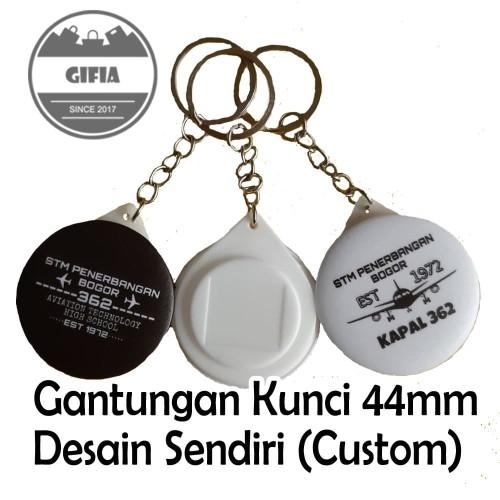 Foto Produk Gantungan Kunci Custom / Pin Gantungan Kunci / Pin Seminar / Souvenir dari Gifia Shop
