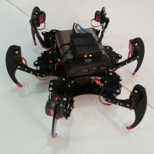Foto Produk Robot hexapod mg90s (Hanya Rangka+baut) dari microbot
