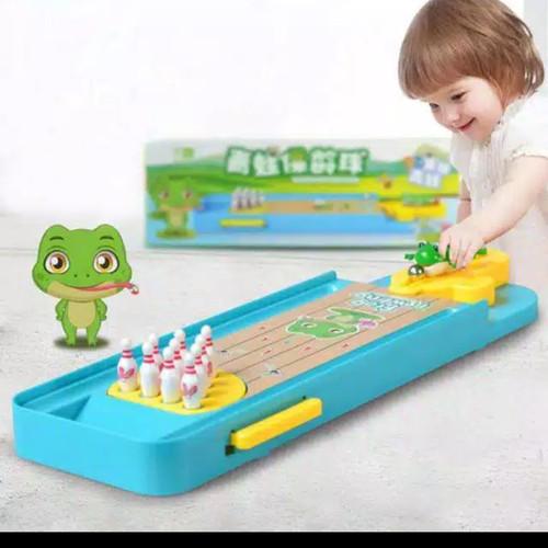 Foto Produk Mainan Anak Fun Bowling Froggie/Toy Activity dari AUTO KID II