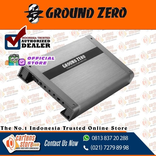 Foto Produk Power Amplifier Ground Zero GZTA 4125X-II by Cartens-Store.Com dari Cartens Store