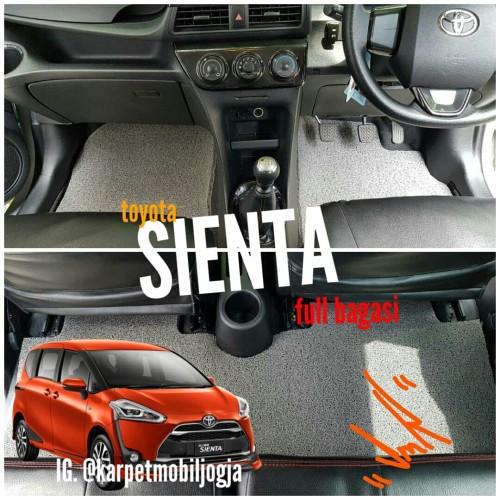Foto Produk Karpet Bihun Mie Mobil Toyota SIENTA full bagasi dari SMR Karpet Mobil Jogja