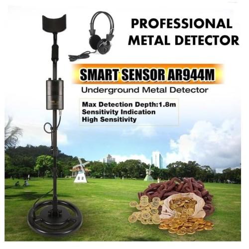 Foto Produk PROFESSIONAL SMART SENSOR GOLD and METAL DETECTOR AR944M + Headphone dari DO OFFICIAL STORE