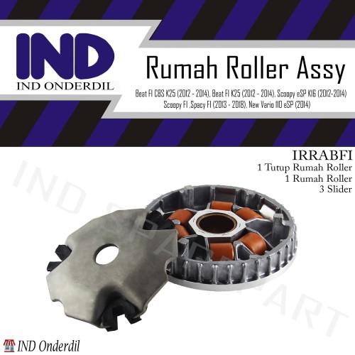 Foto Produk Rumah Roller-Roler Lengkap-Tutup-Slider Beat FI/Vario 110 FI-eSP 2014 dari IND Onderdil