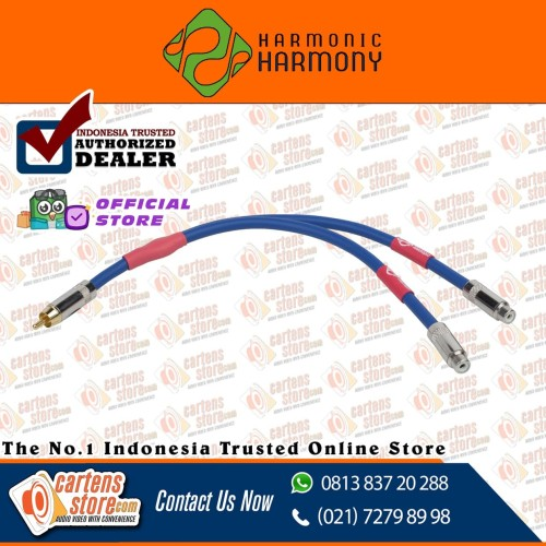 Foto Produk Harmony Harmonic Y-Cable Combine Kabel RCA Cabang 2F1M By Cartens dari Cartens Store