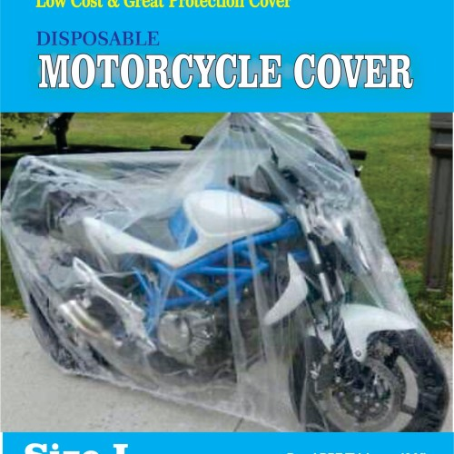 Foto Produk COVER MOTOR TRANSPARAN/DISPOSABLE PLASTIC MOTOCYCLE COVER - XXL dari Ekspan30