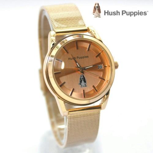 Foto Produk jam tangan HUSH PUPPIES WANITA RANTAI PASIR GOLD ROSE BLUE dari Multyshop MSI