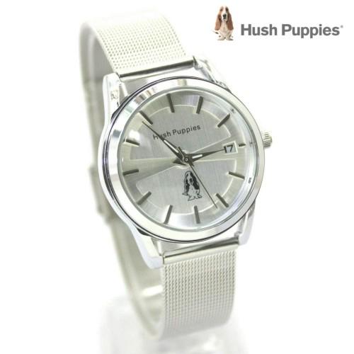 Foto Produk jam tangan HUSH PUPPIES WANITA RANTAI PASIR SILVER BLACK ROSE dari Multyshop MSI