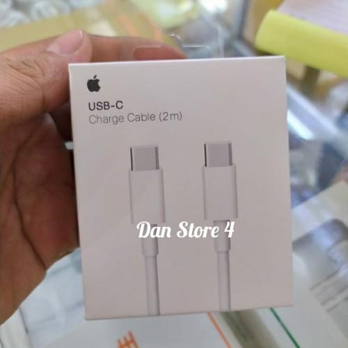 Foto Produk Kabel Cable Charger Apple USB-C Original 2Meter Macbook iPad Pro dari DAN Store 4