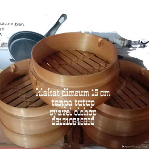 Foto Produk klakat/kukusan bambu dimsum 15 cm dari SyaVel Olshop