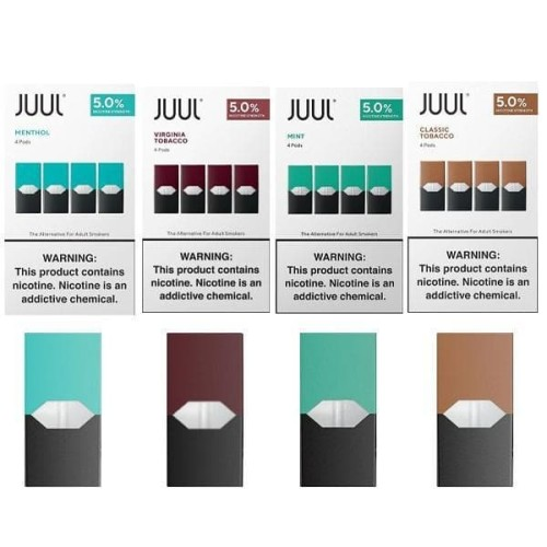 Foto Produk Cartridge JuuI USA isi 4 - Authentic (Android) dari Cape Vape