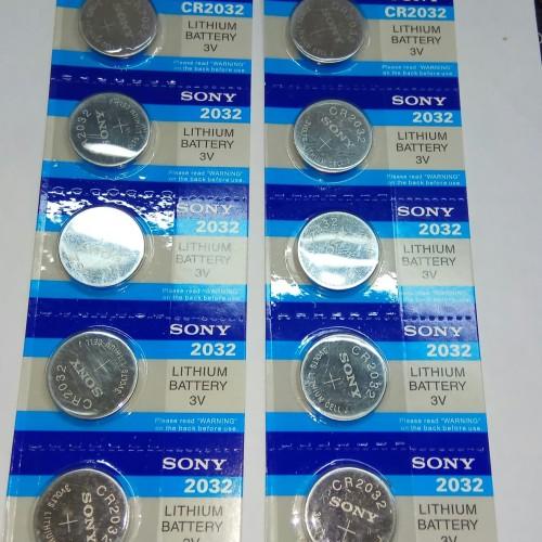 Foto Produk Baterai CMOS Sony CR2032 C-mos CR-2032 ORI dari AS komputer
