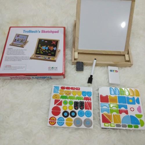 Foto Produk Mainan Edukasi Anak Papan Tulis dan Magnetic TROLLTECH SKETCHPAD dari lovely kayy