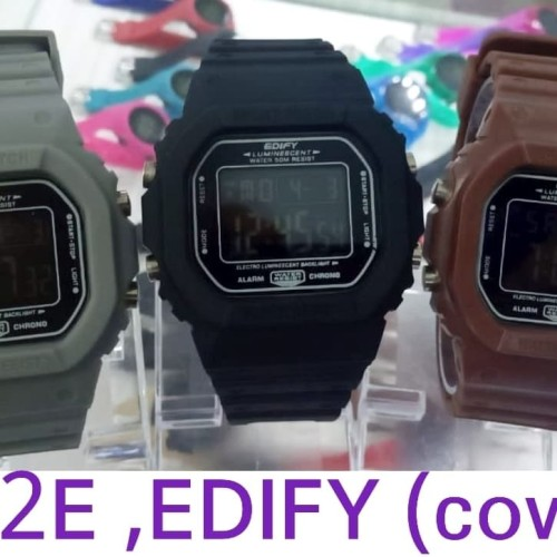 Foto Produk jam tangan edify e1812 pria digital dari js com senen jaya 2