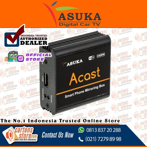 Foto Produk Asuka A - CAST ( Dongle Mirror Link - HDMI) By Cartens Store dari Cartens Store