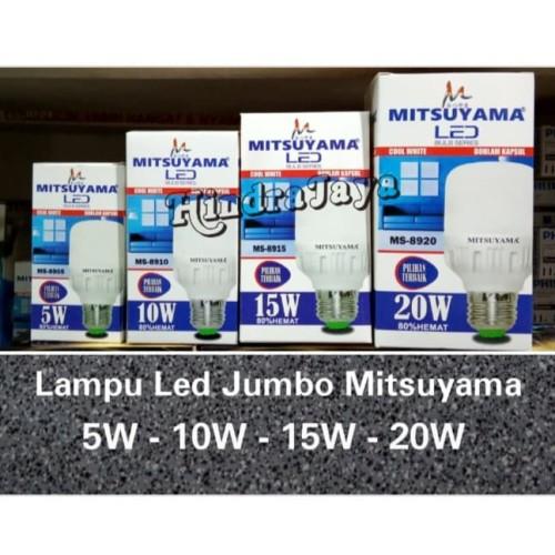 Foto Produk Lampu Led Jumbo Mitsuyama 10W / 10 Watt dari Hindrajaya