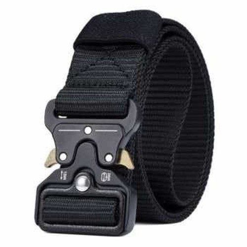 Foto Produk TACTICAL BELT / SABUK TAKTIKAL / IKAT PINGGANG OUTDOOR - BLACK dari DO OFFICIAL STORE