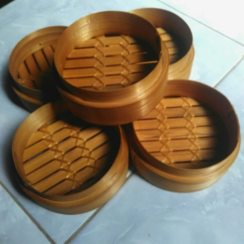 Foto Produk klakat dimsum bambu 13 cm - Asli dari klakat dimsum Berkah bambu