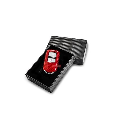 Foto Produk Permaisuri Key Case Carbon for Honda - Merah dari PERMAISURI