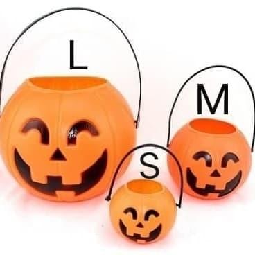 Foto Produk Dekorasi Halloween Keranjang Labu M dari bee party