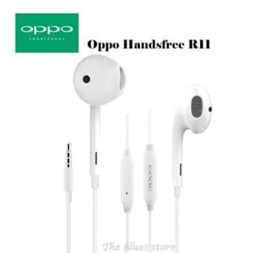 Foto Produk handsfree / headset / earphone OPPO R11 ORIGINAL 99 good Quality dari Y42N.ACC