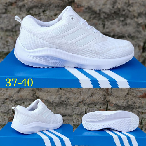 Foto Produk sepatu adidas wanita sepatu sport sepatu olahraga sepatu cassual - Putih, 37 dari ida_shoes