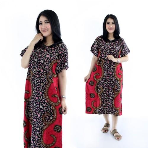 Foto Produk Daster batik SHASMIRA Daster Busui Daster cantik Baju tidur Baju santa dari Shaki fashion