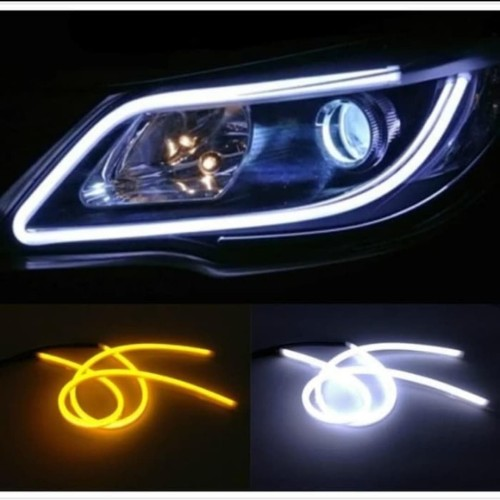 Foto Produk Lampu LED Alis 60 cm DRL dengan WELCOME LIGHT dan Sein Running - Putih dari CaelynStore