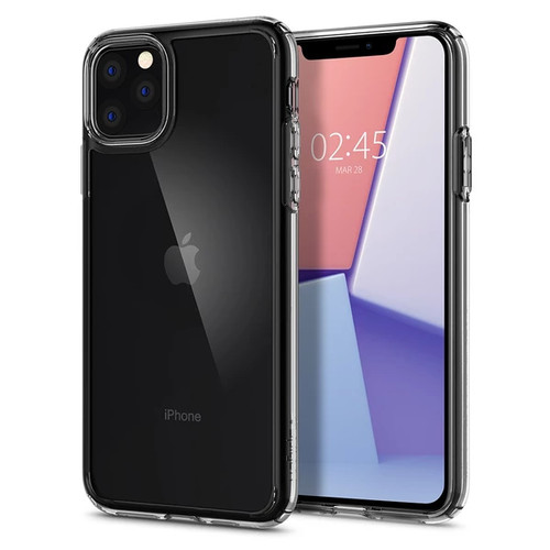 Foto Produk Spigen Ultra Hybrid Case for Iphone 11/ 11 Pro / 11 Pro MAX - crystal clear, 11ProMAX dari iberrycorner