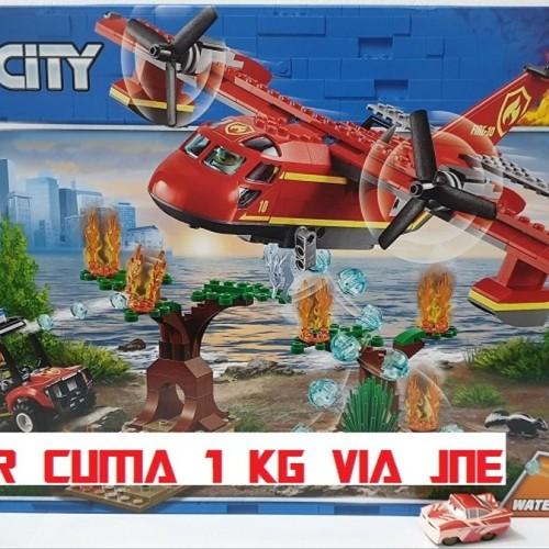 Jual Lego City Fire Plane Water Cannon Pesawat Pemadam ...