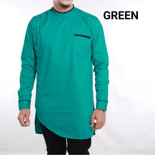 Jual Gamis Pria Modern Baju Koko Pakistan Model Korea Modern Keren Green M Kota Tangerang Selatan Jasmine Sweater Tokopedia