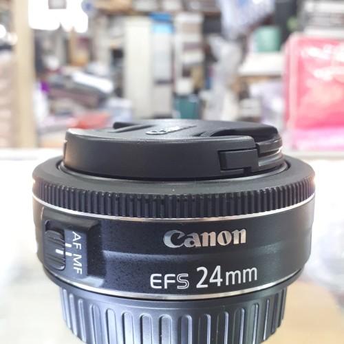 Jual Canon Efs 24mm F2 8 Stm Kondisi Mint Mulusss Abisss Jakarta Pusat Carlo Camera Pasar Baru Tokopedia