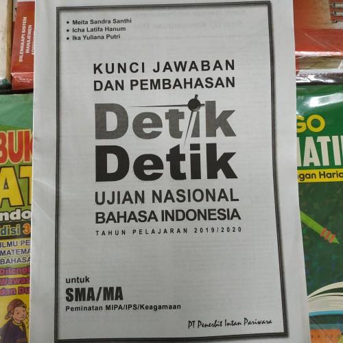 Kunci Jawaban Detik Detik Sd 2020 Bahasa Indonesia Guru Galeri